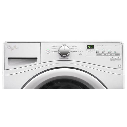 Whirlpool WFW75HEFW 4.5 Cu. Ft. 8-Cycle High-Efficiency Front Load Washer - White 52B-166-WFW75HEFW