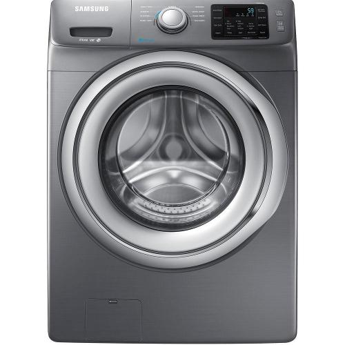 Samsung WF42H5200AP 4.2 cu. ft. Front Load Washer - Platinum 52B-863-WF42H5200AP.