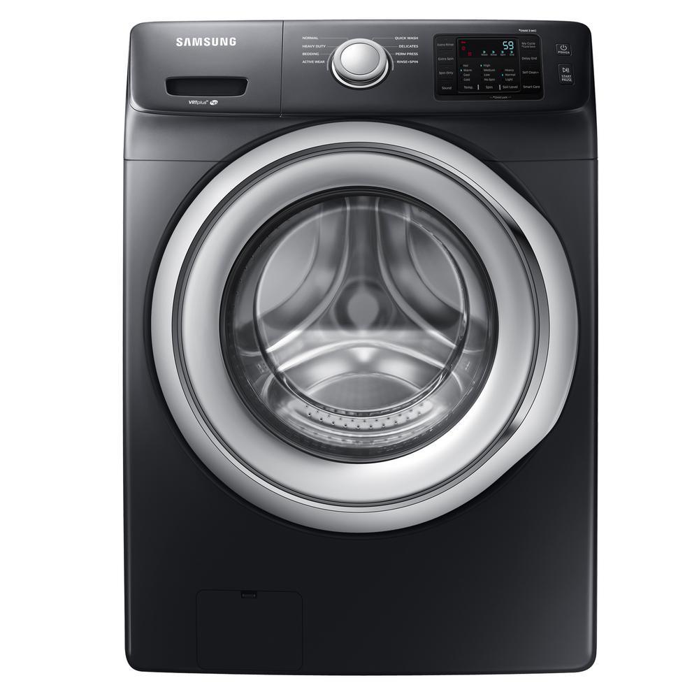 Samsung WF45N5300AV 4.5 Cu. Ft. High Efficiency Front Load Washer - Black Stainless Steel 52B-863-WF45N5300AV