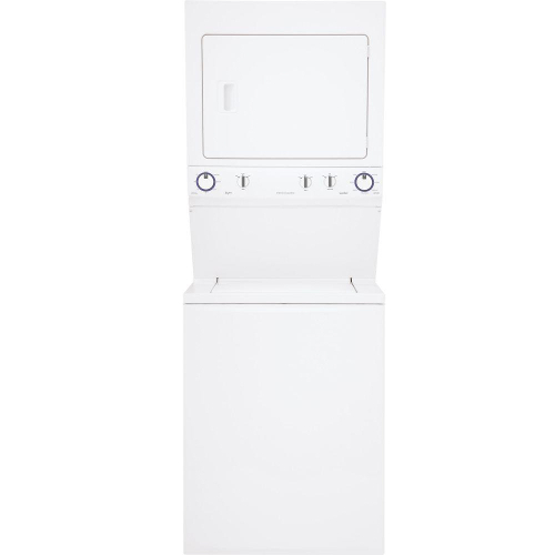 Frigidaire FFLG3911QW 3.8 cu. ft. Top Load Washer and 5.5 cu. ft. Gas Dryer - White 52C-695-FFLG3911QW
