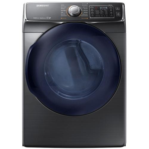 Samsung DV45K6500EV 7.5 cu. ft. Electric Steam Dryer - Black Stainless 53I-863-DV45K6500EV
