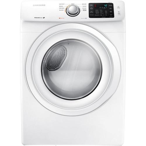 Samsung DV42H5000EW 7.5 cu. ft. Electric Dryer - White 53I-863-DV42H5000EW.