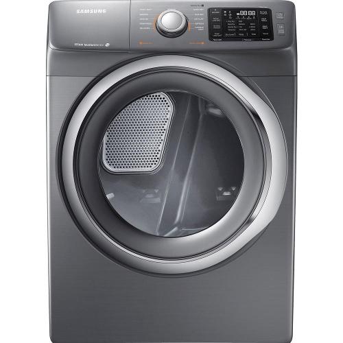 Samsung DV42H5200EP 7.5 cu. ft. Electric Front Load Dryer - Platinum 53I-863-DV42H5200EP.
