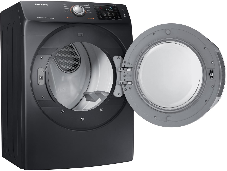 Samsung DVE45N5300V 7.5 Cu. Ft Front Load Electric Dryer - Black Stainless Steel 53I-863-DVE45N5300V