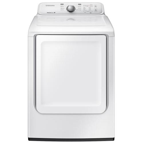Samsung DV40J3000GW 7.2 cu. ft. Front Load Gas Dryer - White 53L-863-DV40J3000GW
