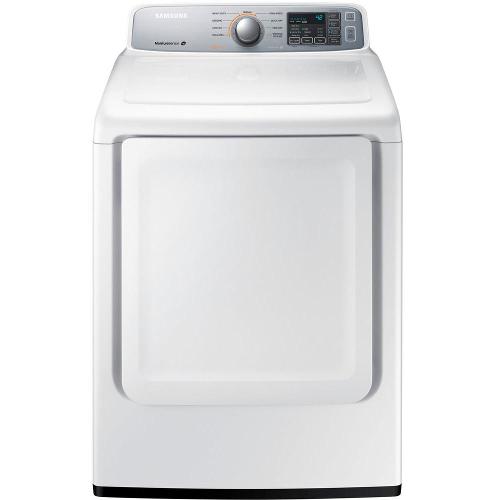 Samsung DV45H7000GW 7.4 cu. ft. Gas Dryer - White 53L-863-DV45H7000GW