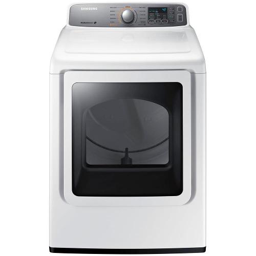 Samsung DV45H7200GW 7.4 cu. ft. Front Load Gas Dryer - White 53L-Q63-DV45H7200GW