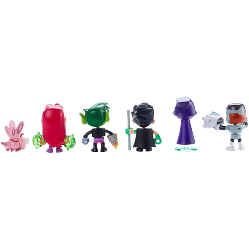 Mattel Teen Titans Go 6-Pack Mini Figures 12K-766-DXR07