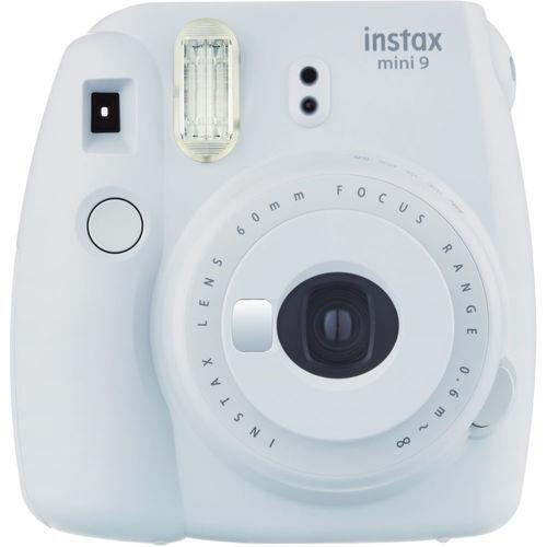 Fujifilm 4U1647 Instax Mini 9 Instant Camera - Smokey White