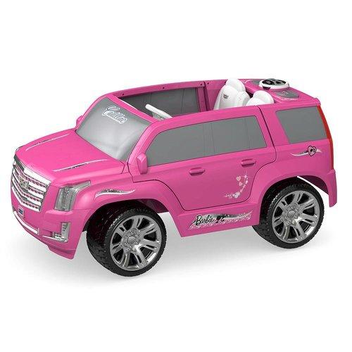 Power Wheels Barbie Cadillac Escalade 12 Volt Ride On - Pink 12W-797-CDD13