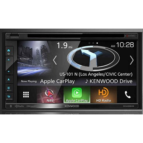 Kenwood Excelon DNX694S In-Dash Navigation with 6.8