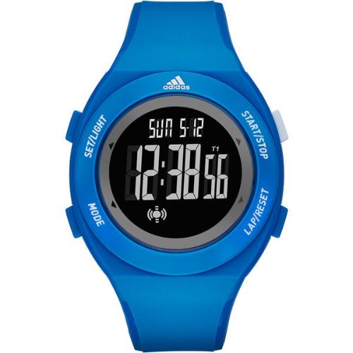 Adidas Performance Yur Basic Silicone Strap Watch - Blue