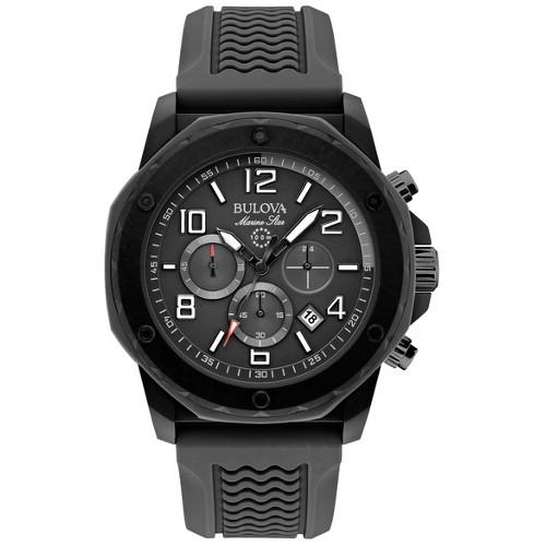 Bulova Men's Marine Star Chronograph Watch - Black