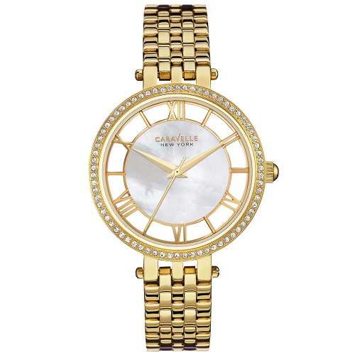 Caravelle New York Women's Stainless Steel Bracelet Watch - Gold 60C-005-44L170