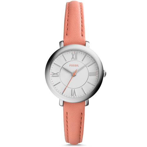 Fossil Women's Mini Jacqueline Three-Hand Date Leather
