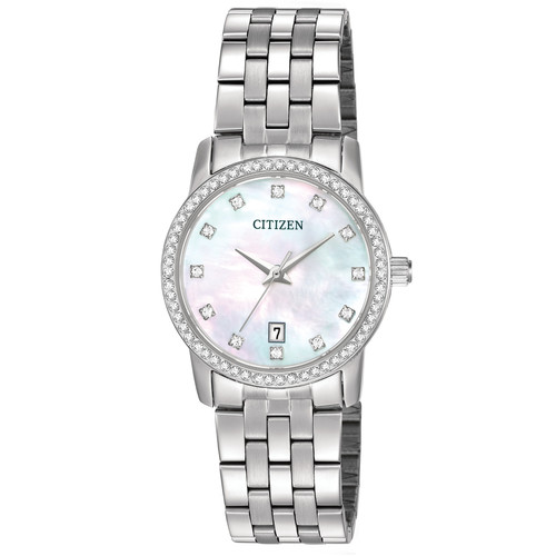 Citizen Women's Mother of Pearl Dial Stainless