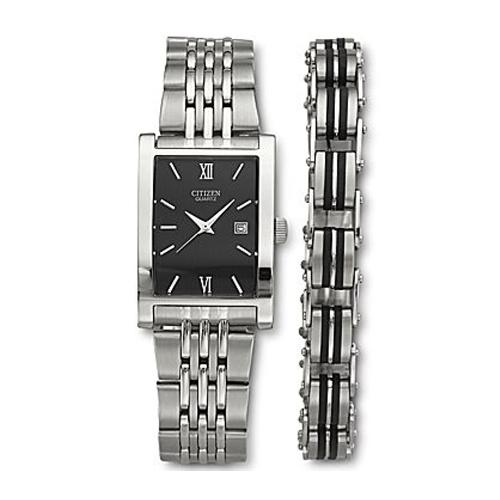 Citizen Men´s Watch and Bracelet Set