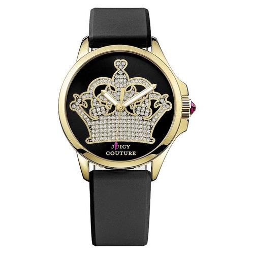 Juicy Couture Women's Jetsetter Silicone Strap Watch