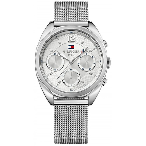 Tommy Hilfiger Women's Multi-Function Silver Dial Stainless