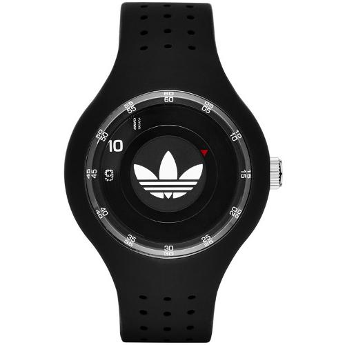 Adidas Originals Ipswich Silicone Strap Watch - Black