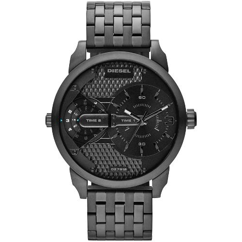 Diesel Men's Little Daddy Stainless Steel Bracelet Watch - Black