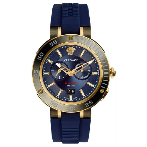 Versace Men's V-Extreme Pro Dual Time Watch