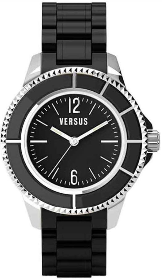 Versus By Versace Tokyo Women's Analog Watch - Black
