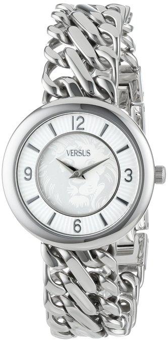 Versus by Versace Acapulco Women's Stainless Steel Link Bracelet Watch - Silver