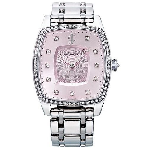 Juicy Couture Women's Beau Pink Tone Bracelet Watch - Stainless Steel