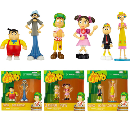 El Chavo 2 Pack PVC Figures - Assortment 12K-D37-66076