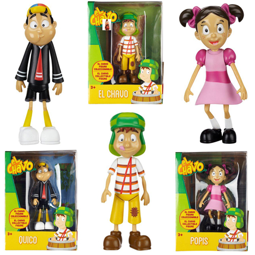 El Chavo Vinyl Figures - Assortment 12K-D37-66077