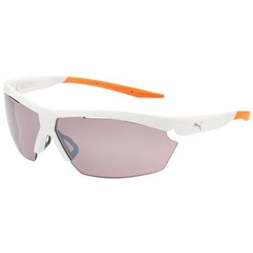 39c5e11032d5 Puma PU0005S Sunglasses - White   Silver