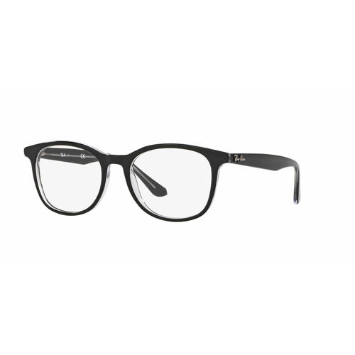 Ray-Ban RX5356 Eyeglasses - Top Black on Transparent