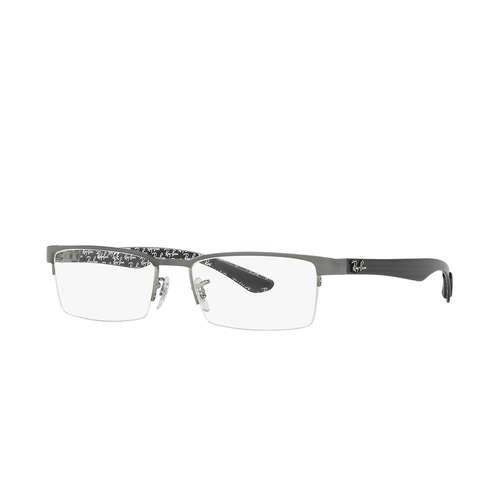 3de7a50cb6 Ray-Ban RX8412 Eyeglasses - Gunmetal Top on Grey