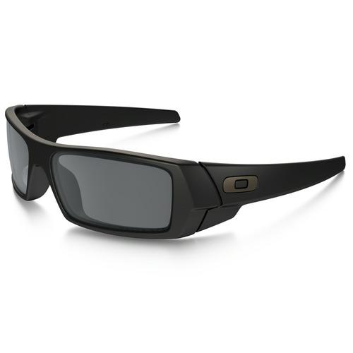 Oakley Men's Gascan Sunglasses - Matte Black/Gray Polarized 67H-F99-OO9014/11122