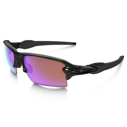 Oakley Men's Flak 2.0 XL Prizm Golf Sunglasses - Polished Black/Prizm Golf 67H-F99-OO9188/05