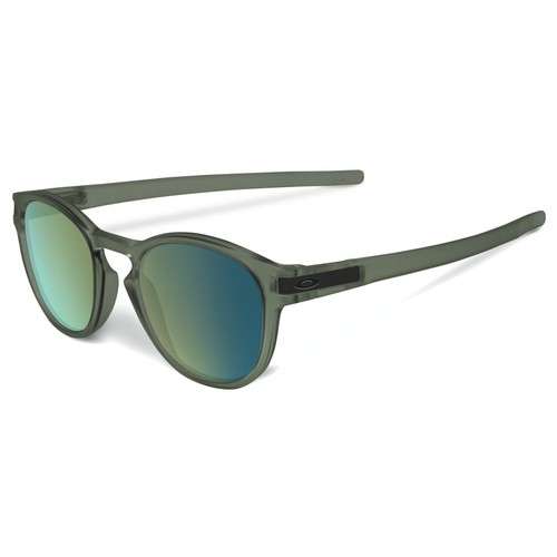 Oakley OO9265 Latch Sunglasses - Matte Olive Ink / Emerald Iridium