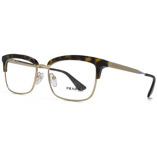 Prada Cinema Square Sunglasses - Havana / Transparent 67N-G65-PR08SV2AU1O1