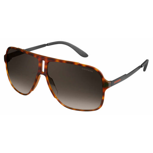 Carrera 122/S Sunglasses - Havana Matte Black / Brown Gradient