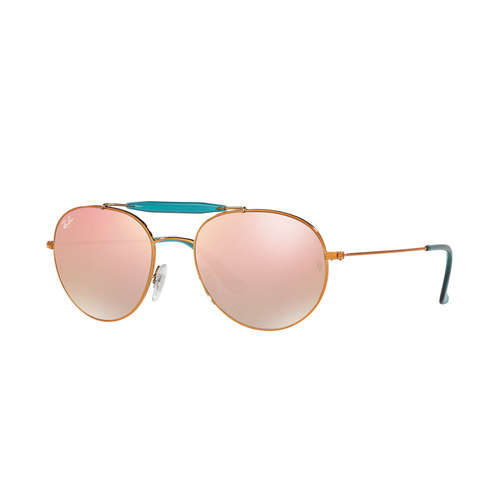 Ray-Ban RB3540 Sunglasses - Shiny Bronze / Copper Flash Gradient