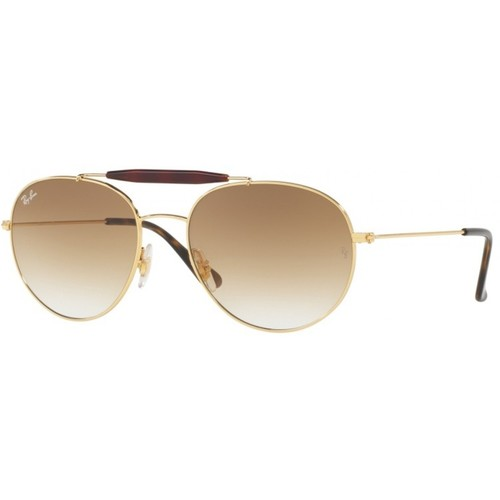 Ray-Ban RB3540 Sunglasses - Gold / Green