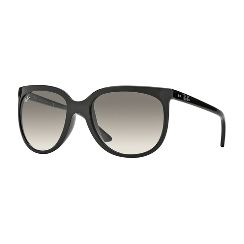 Ray-Ban RB4126 Cats 1000 Sunglasses - Black / Crystal Gray Gradient 67R-G65-RB4126601/32