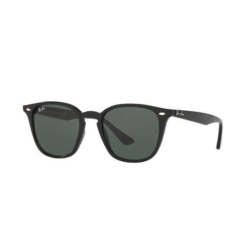 Ray-Ban RB4258 Wayfarer Sunglasses - Black / Green