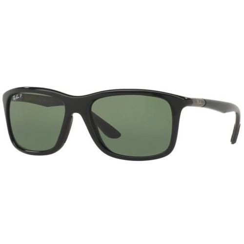 Ray-Ban RB8352 Wayfarer Sunglasses - Black / Green Polarized