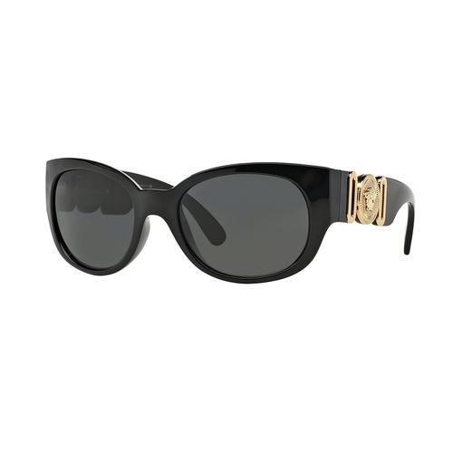 Versace VE4265 Sunglasses - Black / Gray