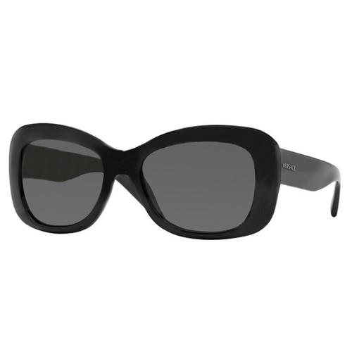 Versace VE4287 Sunglasses - Black / Grey