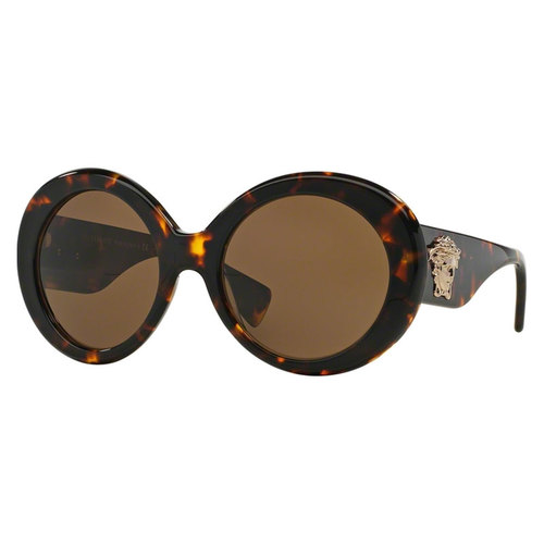Versace VE4298 Sunglasses - Havana / Brown