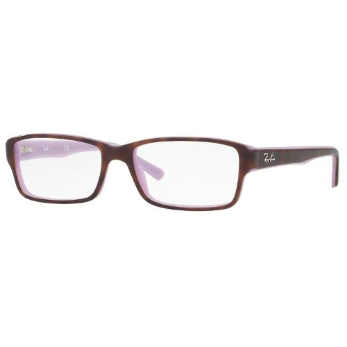 Ray-Ban RX5169 Eyeglasses - Top Havana on Opal Violet