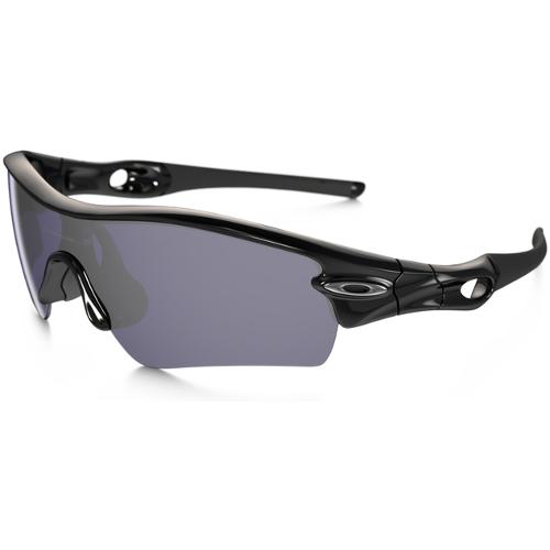 Oakley Radar Path Men's Sunglasses - Polished Black / Grey