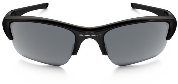 Oakley Flak Jacket XLJ Men's Sunglasses - Jet Black / Black Iridium Polarized